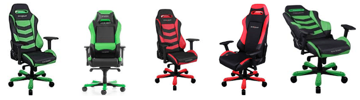 silla gaming DXRacer Iron Series