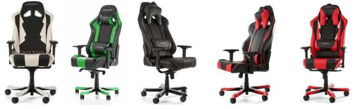 sillas gaming marca DXRacer Sentinel Series