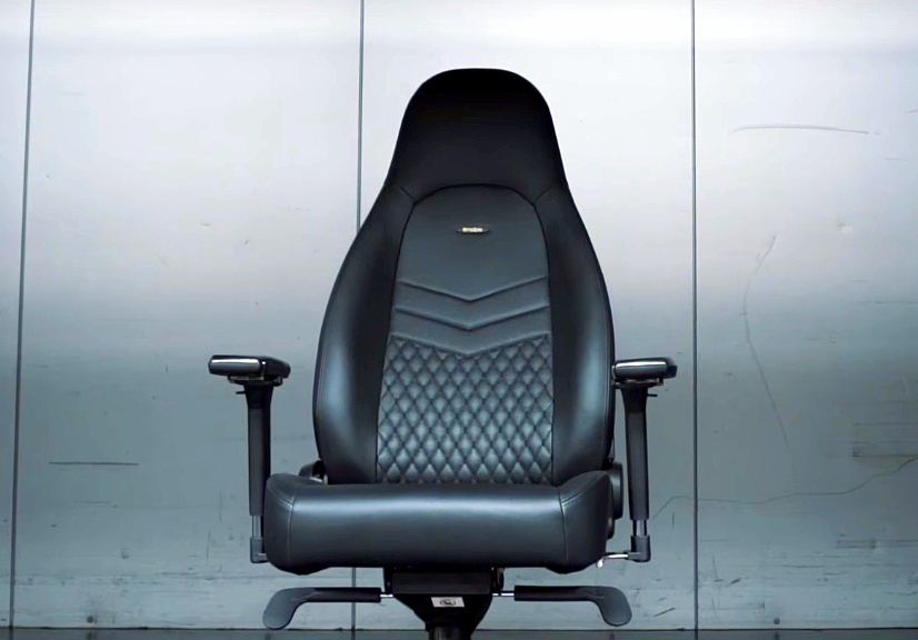 Sillas Noblechairs ICON Real Leather – Lujo alemán válido para Gaming y Oficina