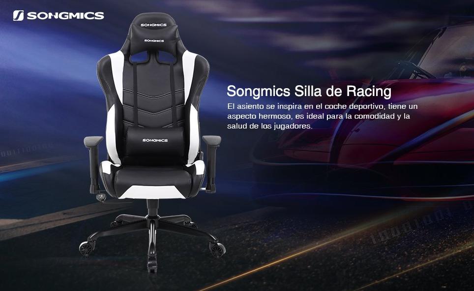 Sillas gaming Songmics – Cuando un fabricante de muebles se atreve con el sector gaming.